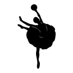 Ballet Dancer Sticker 39 - cartattz1.myshopify.com