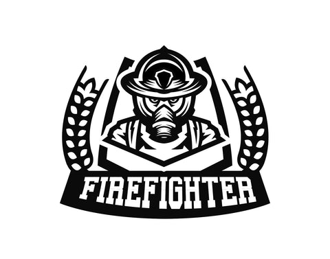 Firefighter Emblem Decal