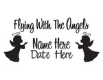 In Memory of Decal Flying with the Angels - cartattz1.myshopify.com