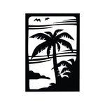 Palm Tree Sticker 2 - cartattz1.myshopify.com