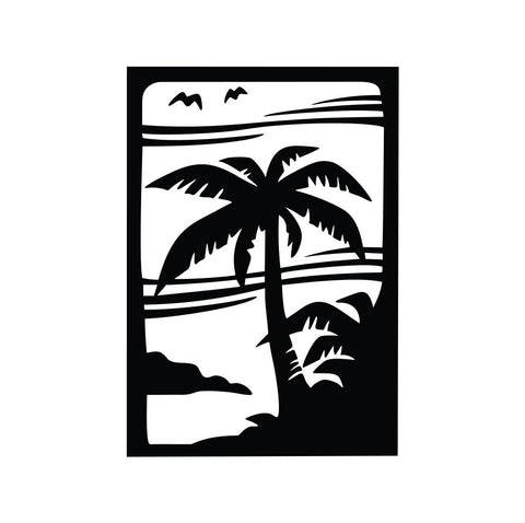 Palm Tree Sticker 2