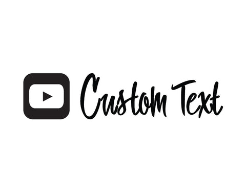 YouTubeSticker Snappy Regular Font - cartattz1.myshopify.com