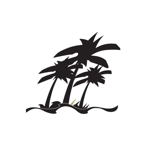 Palm Tree Sticker 3