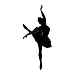 Ballet Dancer Sticker 2 - cartattz1.myshopify.com