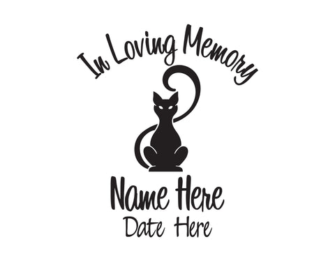 In Loving Memory of Cat Decal 2 - cartattz1.myshopify.com
