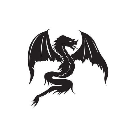 Dragon Sticker 7 - cartattz1.myshopify.com