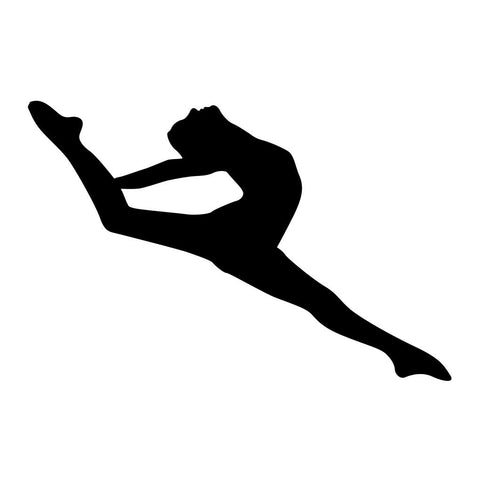 Ballet Dancer Sticker 3 - cartattz1.myshopify.com