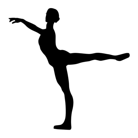 Ballet Dancer Sticker 4 - cartattz1.myshopify.com