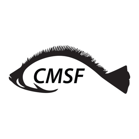 Cape May Sport Fishing Cmsf Fish Sticker - cartattz1.myshopify.com