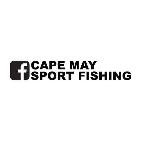 Cape May Sport Fishing Facebook Sticker - cartattz1.myshopify.com
