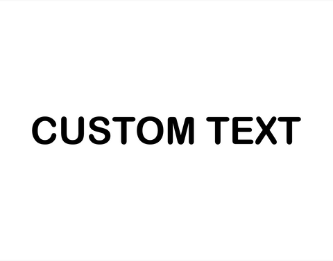 Custom Sticker Arial Rounded Font - cartattz1.myshopify.com