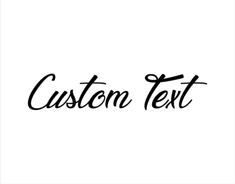 Custom Sticker Legendary Hollywood Font - cartattz1.myshopify.com