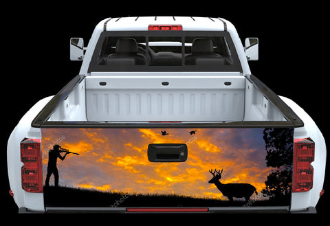 Deer Hunter Tailgate Wrap 3 - cartattz1.myshopify.com