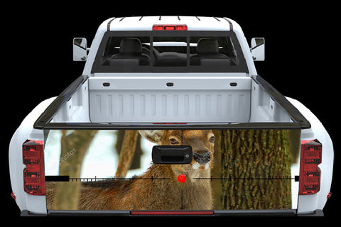 Deer Hunter Tailgate Wrap