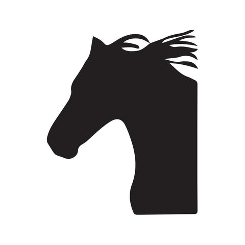 Horse Bust Decal