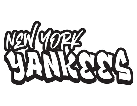 MLB Graffiti Decals new york yankees - cartattz1.myshopify.com