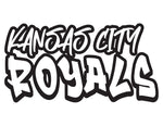MLB Graffiti Decals kansas city royals - cartattz1.myshopify.com