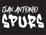 NBA Graffiti Decals- San Antonio Spurs - cartattz1.myshopify.com
