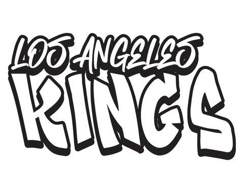 NHL Graffiti Decals-Los Angeles Kings - cartattz1.myshopify.com