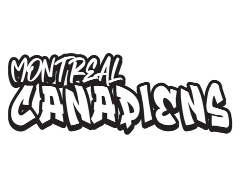 NHL Graffiti Decals-Montreal Canadiens - cartattz1.myshopify.com