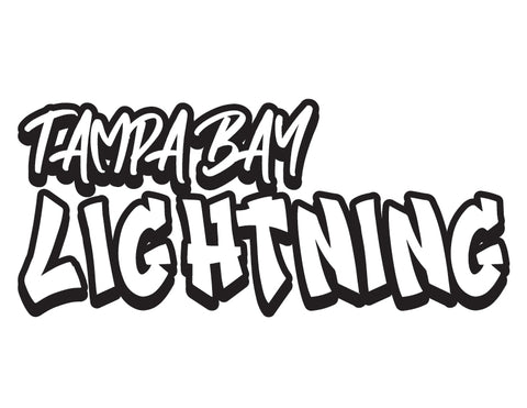 NHL Graffiti Decals-Tampa Bay Lightning - cartattz1.myshopify.com