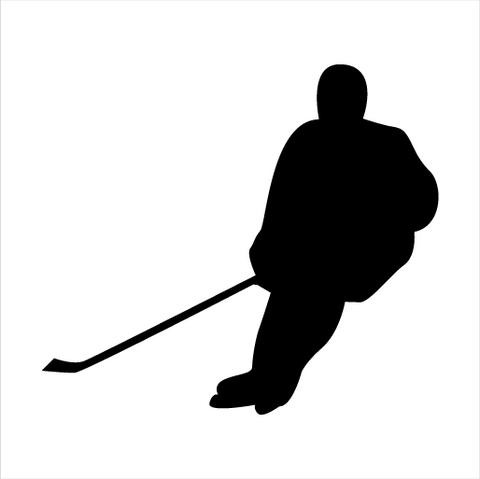 Hockey Sticker 8 - cartattz1.myshopify.com