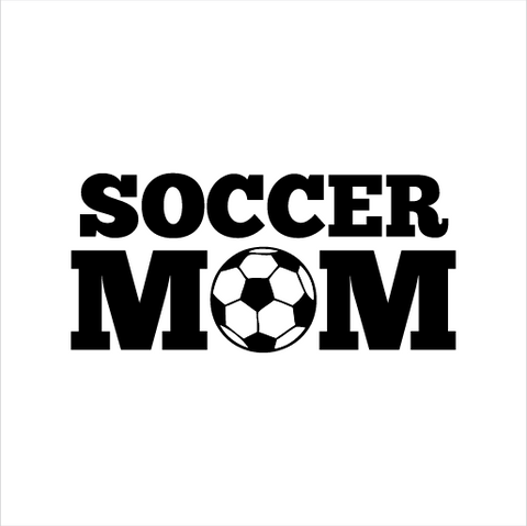 Soccer Mom Sticker - cartattz1.myshopify.com
