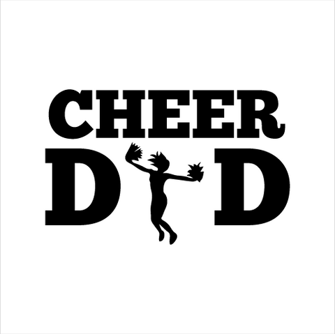 Cheer Dad Sticker