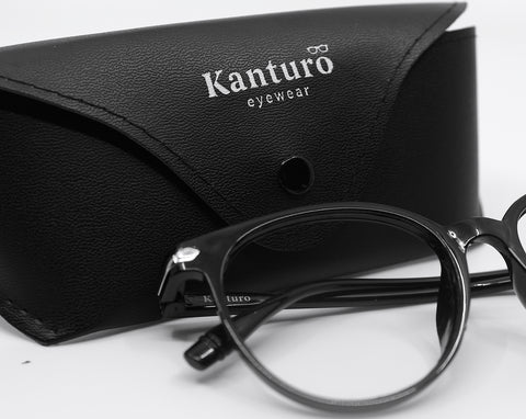 kanturo's blue light blocking glasses & case