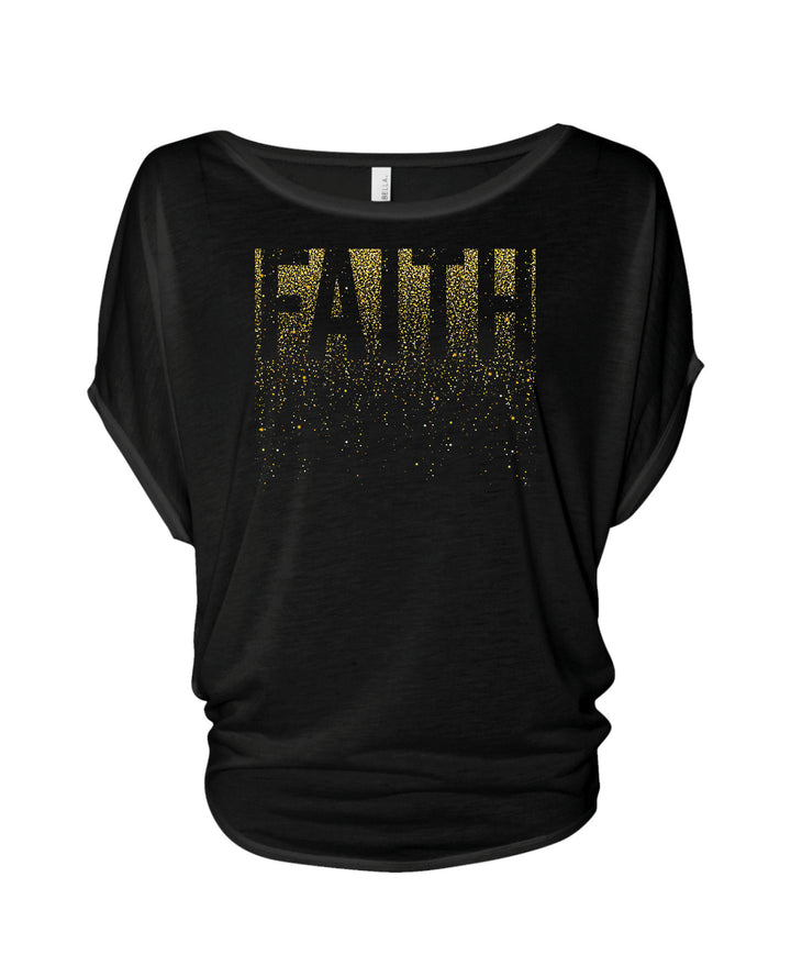Faith Flowy Circle Top