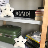 Two Rodney starfish pillows