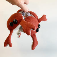 *Shipping included *Crab Keychain