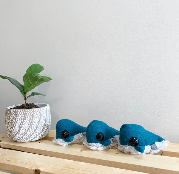 3 whale keychains shipping included