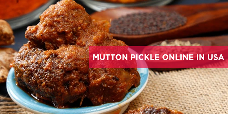 Mutton Pickle Online in USA