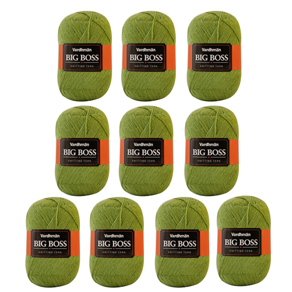 Big Boss Knitting Yarn - Pack of 10