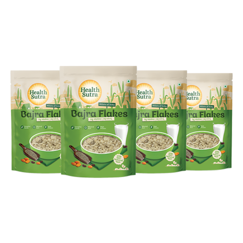 Bajra Flakes - Pack of 4