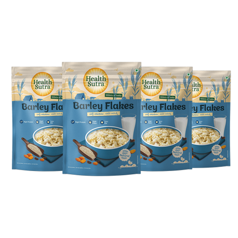 Barley Flakes - Pack of 4