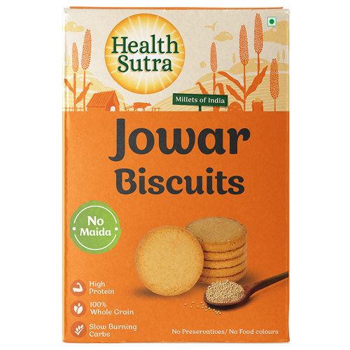 Jowar Biscuits - Pack of 10