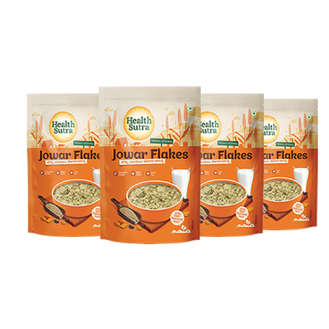 Jowar Flakes - Pack of 4