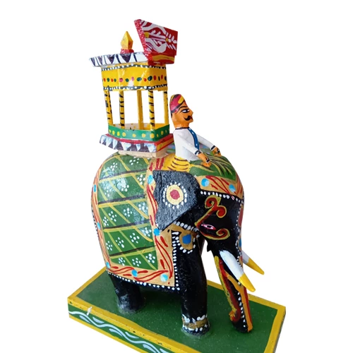 Kondapalli Royal Maharaja Ambari Wooden Small