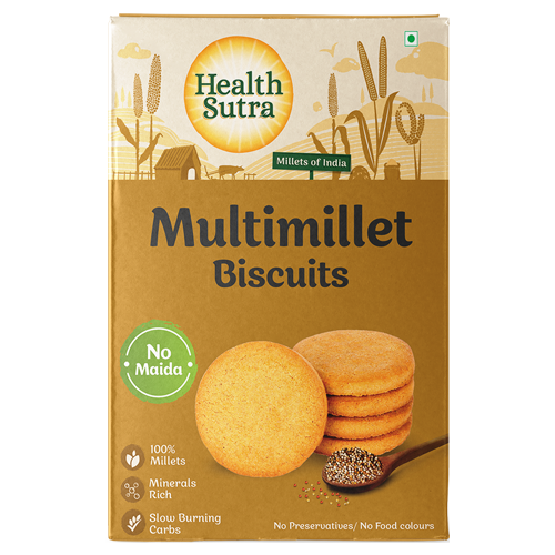 Multimillet Biscuits - Pack of 10