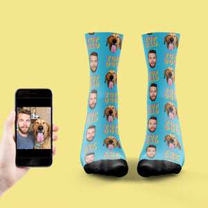Top Dog, Top Dad Socks