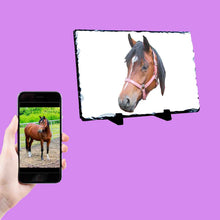 Load image into Gallery viewer, Horse Picture Photo Slate