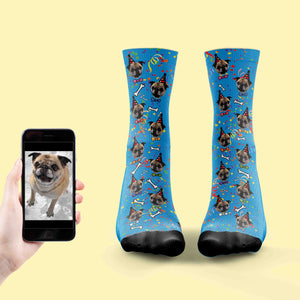 Dog Birthday Socks
