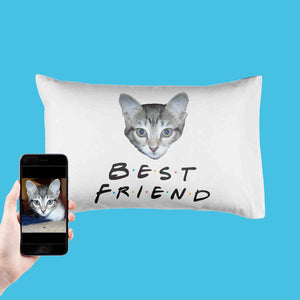 Best Friend Cat Pillowcase
