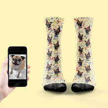 Load image into Gallery viewer, Dog Birthday Socks