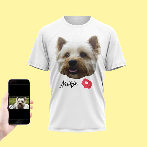 Love Dog Face T-Shirt
