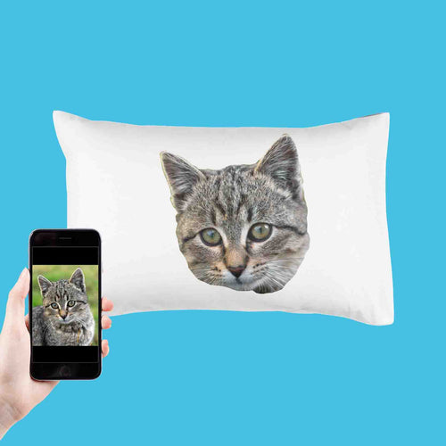 Cat Photo Pillowcase