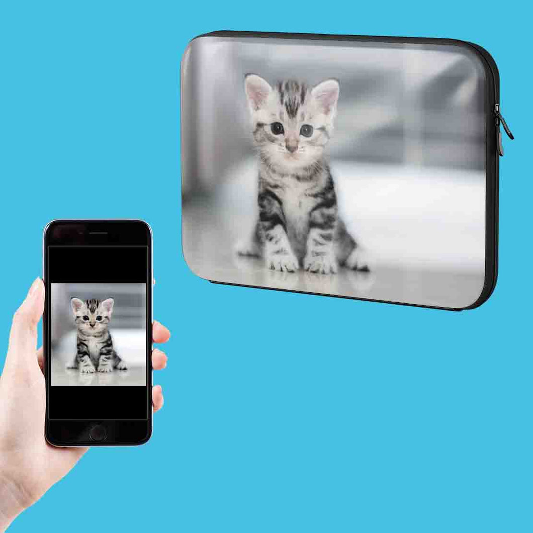 Your Cat Photo On A Laptop Case