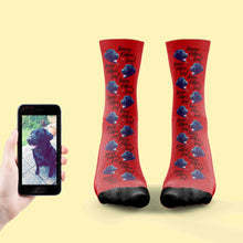 Load image into Gallery viewer, Happy Fathers Day Dog Socks
